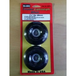 Roue Dubro non gonflable 89 mm